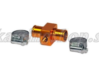 Alfano T-rör för kylarslang, 17mm M10x1
