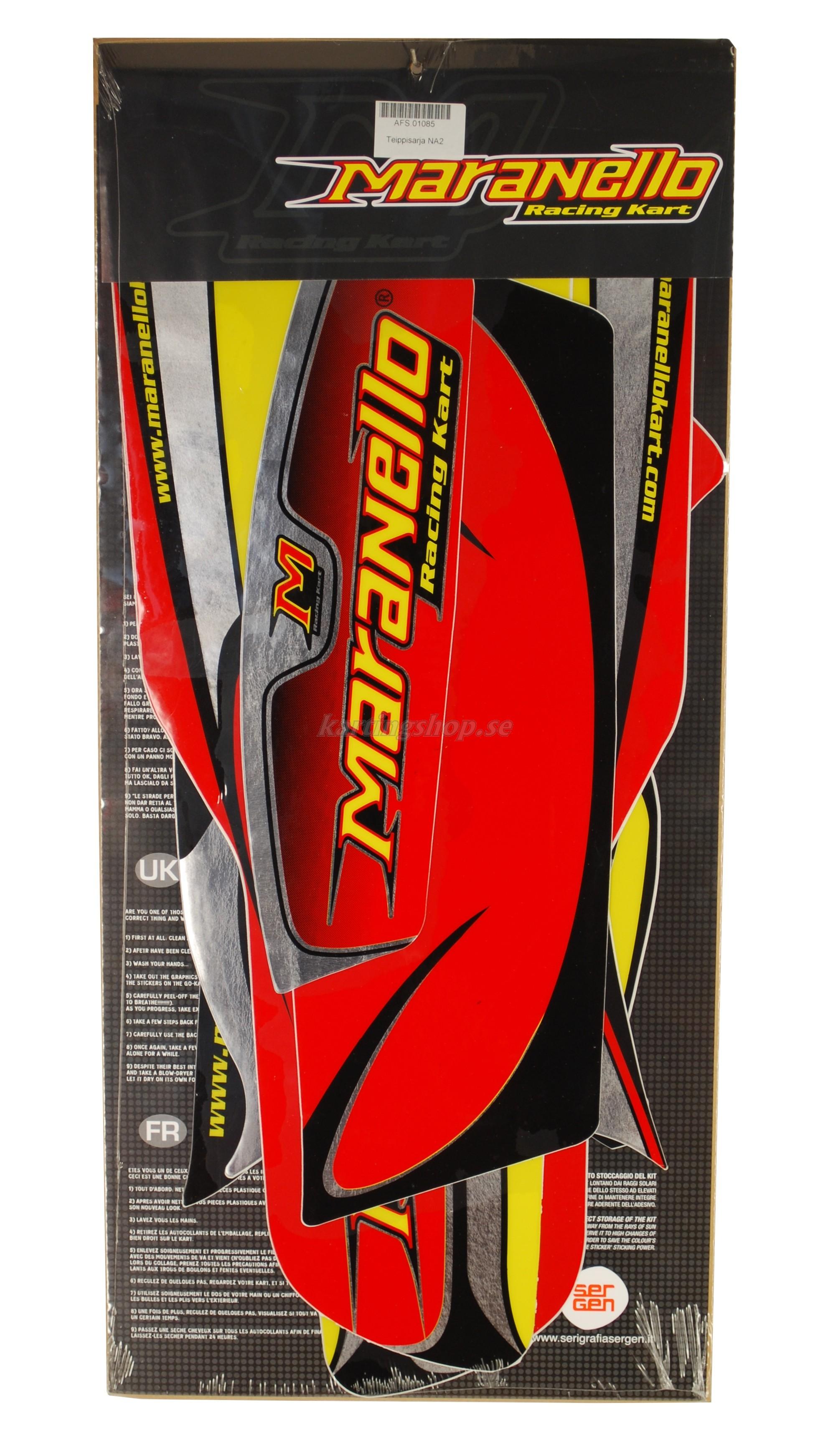 Dekal kit NewAge2 Maranello