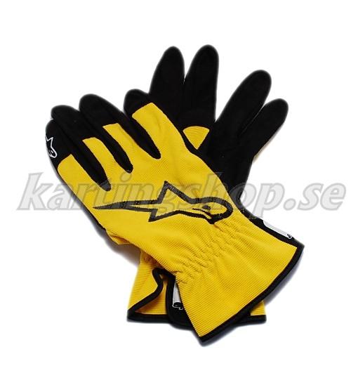 Alpinestars mekanik handskar gul storlek S