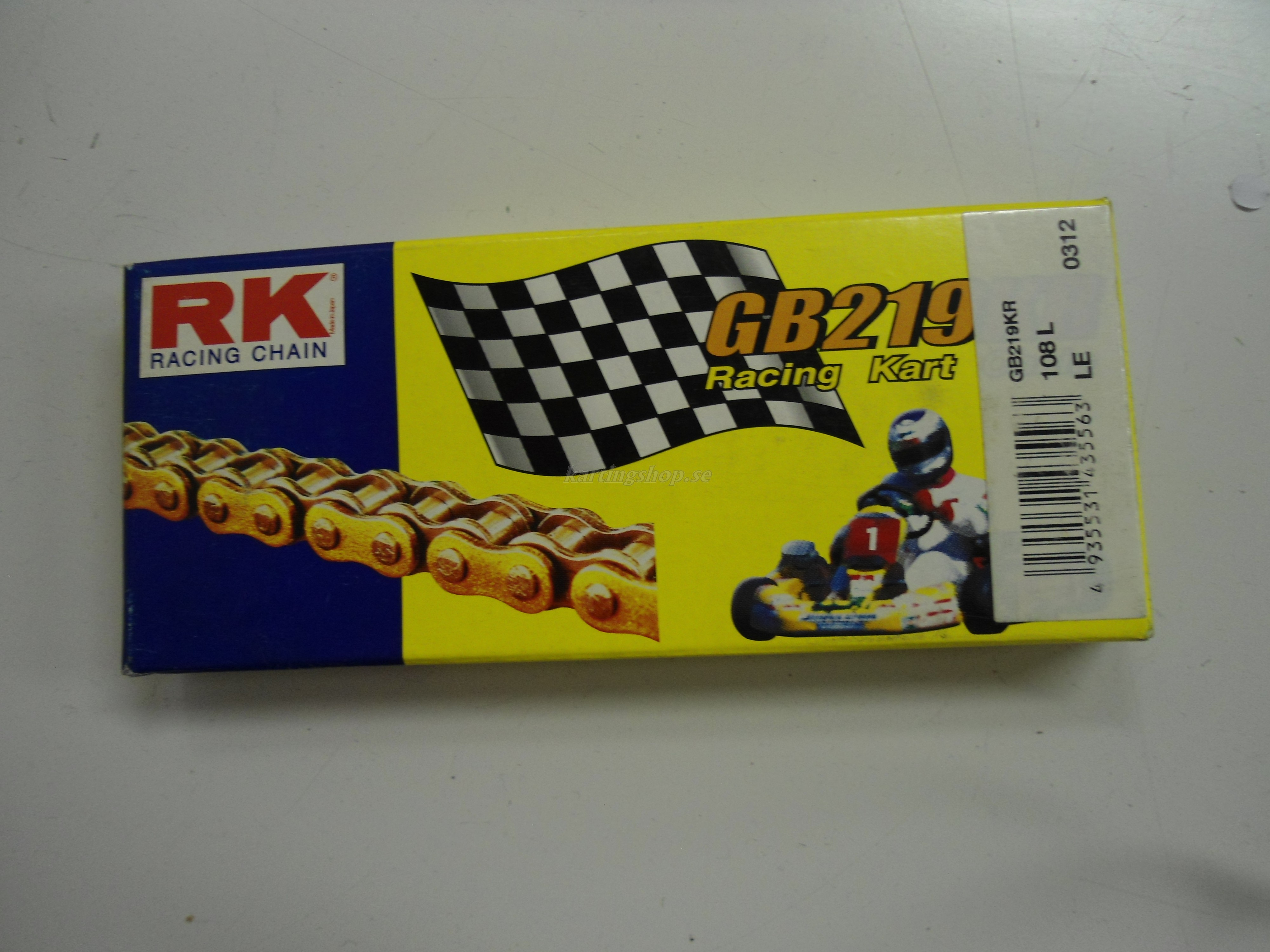 RK 219 karting GD/BL kedja 102L
