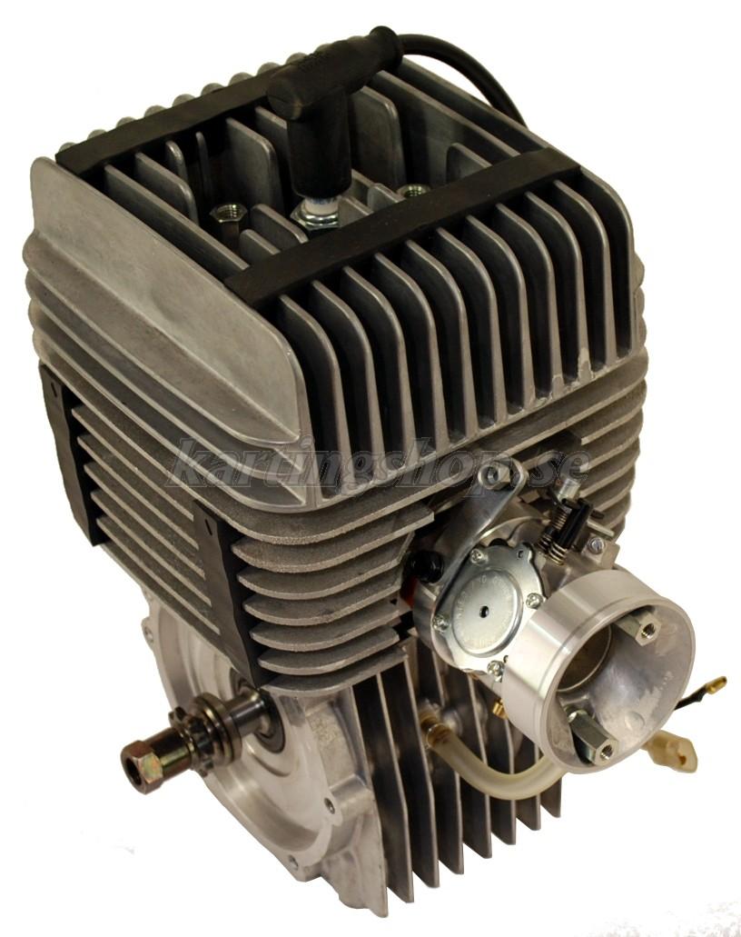 Yamaha KT 100 motor utan ljuddämpare