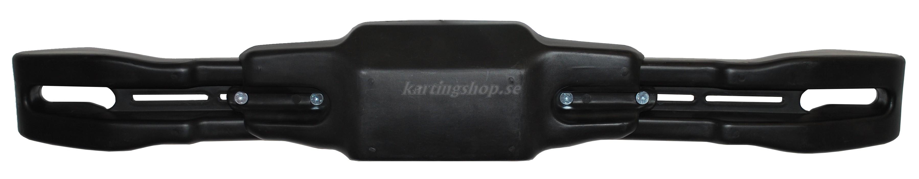 Bakspoiler KG justerbar tris svart . 99,5-117,5 cm