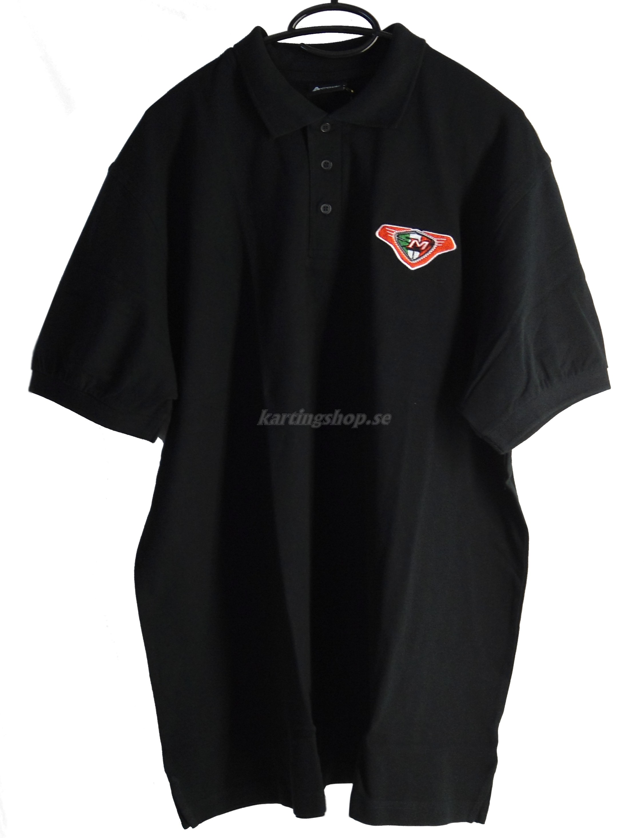 Maranello Pikétröja svart