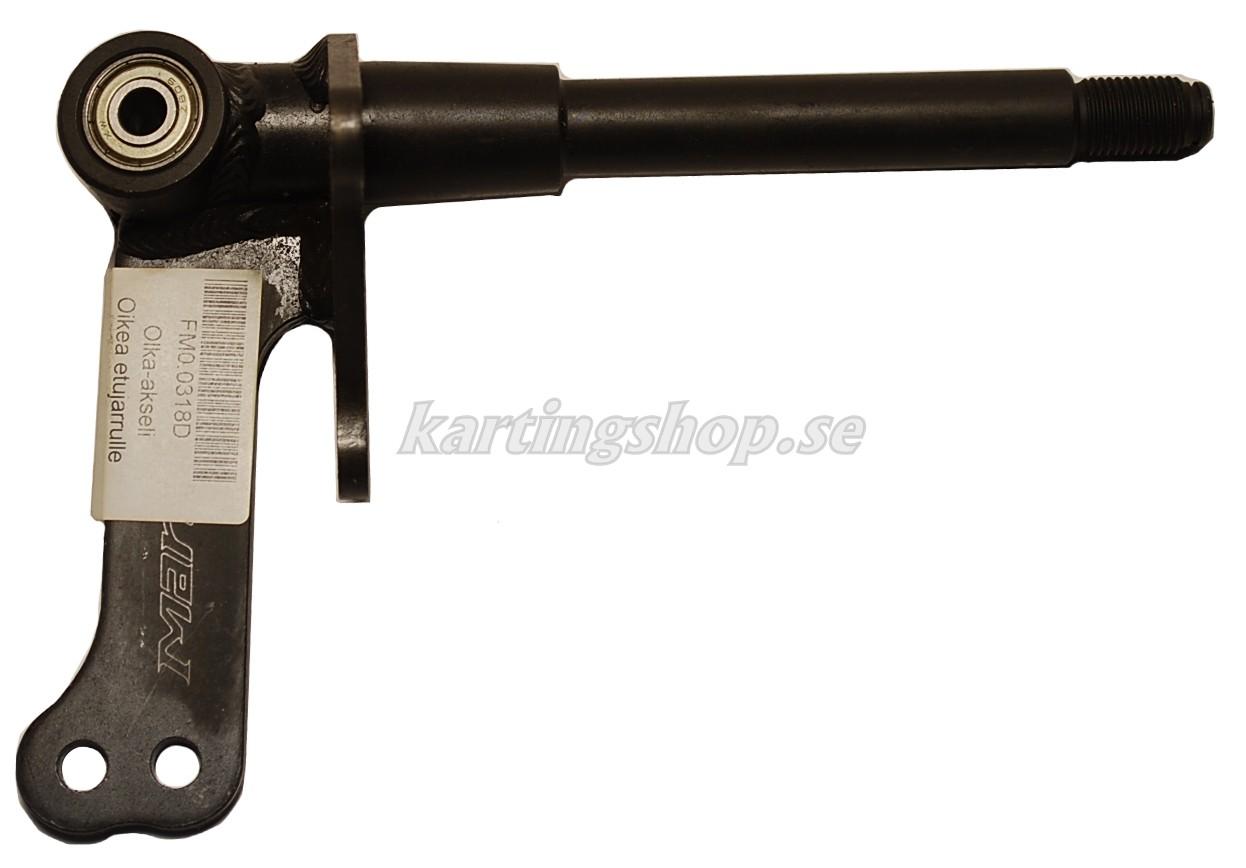 Styrspindel höger Ø17mm till frambroms (100cc)
