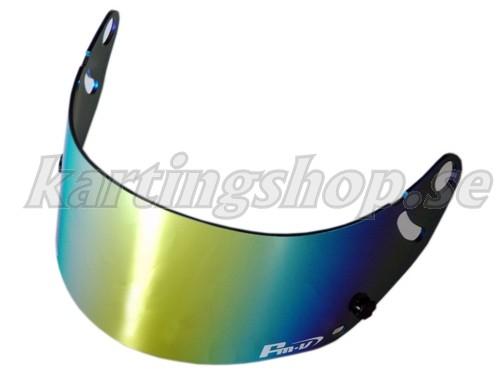 FMV guld iridium visir mörkt (passar GP-5 GP-5S SK-5)