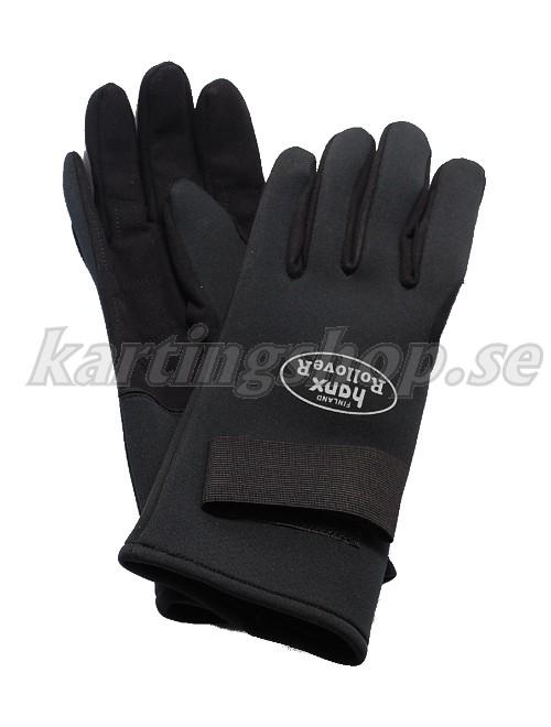 Hanx neopreene regen handskar svart