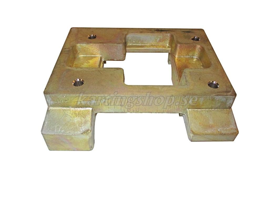 Motorfäste 30x92 Flat (X30) magnesium  80x115