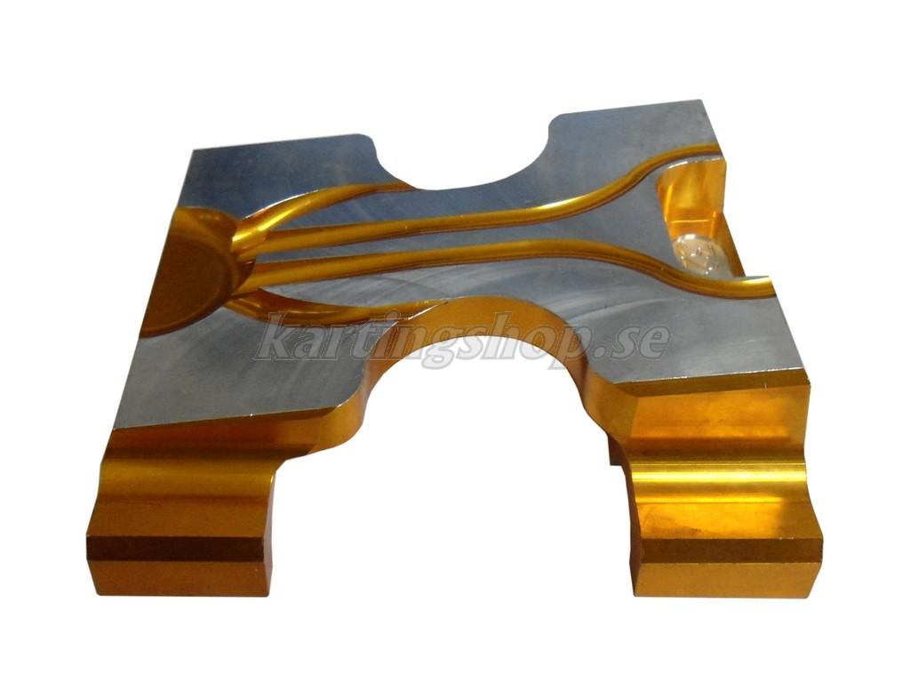 Motorfäste 32x92 Gold unbored