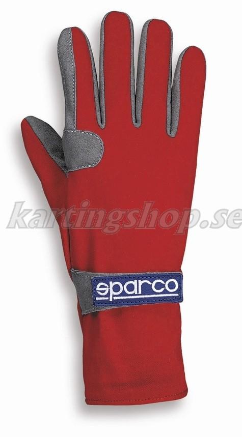 Sparco handskar röd