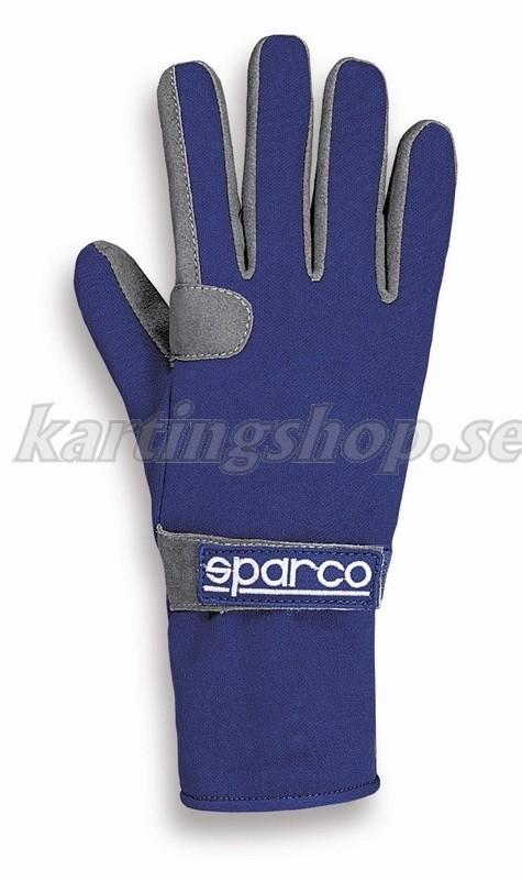 Sparco handskar blå