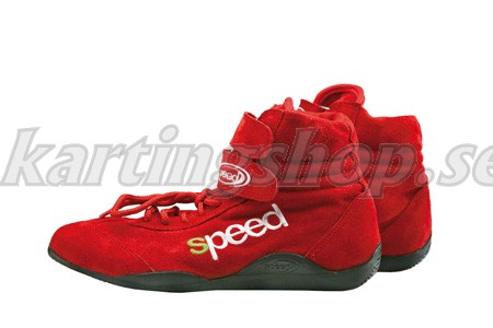 Speed karting skor röd
