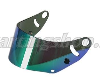 Arai visir mirror grön CK-6