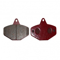 Bromsbelägg sats Ven08 röd, Maranello, CRG (AFS.02000)