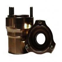 Framnav magnesium  Ø25mm/ 82mm (nav Ø55mm), OBS. pris/styck
