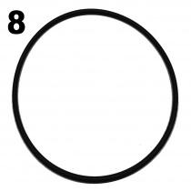 Iame X30 Topplockspackningen stora o-ring