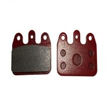 Bromsbelägg sats Ven05 röd, Maranello, CRG (AFS.01745)