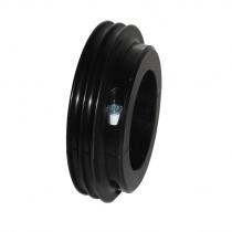 Vattenpumpen remskiva till bälte Ø50mm , aluminium
