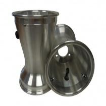 Bakfälgar 180 mm Alu , med däcklås