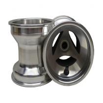 Framfälgar 130mm Alu ventilerad (med Ø17mm lager)