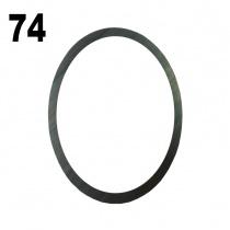 Iame X30 Ramlager brikka 0,1mm (6206)