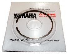 Yamaha KT 100 Kolvringar