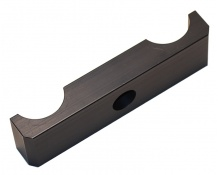 Underfall aluminium svart